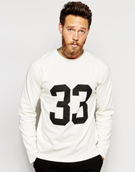 Wood Wood Gerrit Long Sleeve Cream