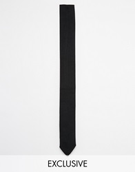 Reclaimed Vintage Tie Black
