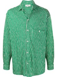 Ymc Striped Knitted Shirt 60