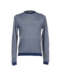 Bramante Knitwear Jumpers Men Blue