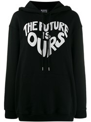 Markus Lupfer The Future Is Ours Hoodie Black