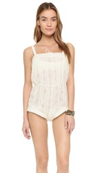 Beach Riot Collection Drifter Romper White