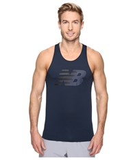 New Balance Accelerate Graphic Singlet Galaxy Men's Sleeveless Navy