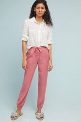 Cloth And Stone Buttoned Joggers Pink
