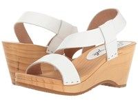 Free People Dune Beach Clog White Women's Clog Shoes