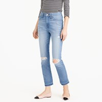 J.Crew Petite Vintage Crop Jean In Edith Wash