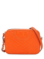 Tory Burch Leather Camera Bag Orange