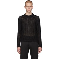 Prada Black Mohair Sweater