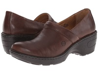 Born Toby Ii Brown Women's Clog Shoes