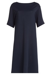 Jil Sander Jersey Dress Blue