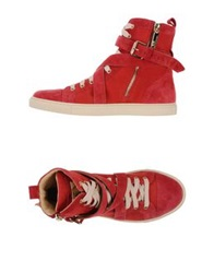 Elisabetta Franchi High Tops And Trainers Black