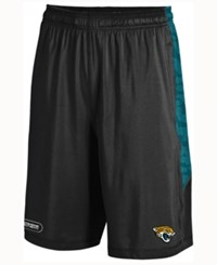 Under Armour Men's Jacksonville Jaguars Raid Novelty Shorts Black