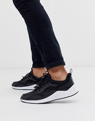 Creative Recreation Fashion Knit Trainer In Black