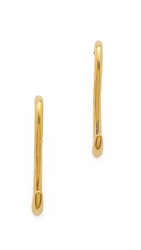 Rodarte Gold Hook Earrings