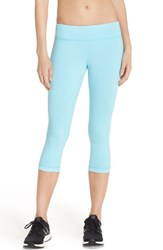 Women's Under Armour 'Shape Shifter' Studiolux Capris Sky Blue