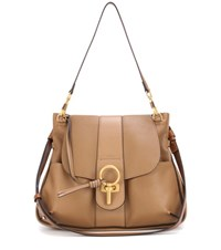 Chloe Lexa Leather Crossbody Bag Brown