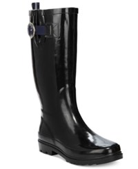 Nautica Women's Lovise Rain Boots Women's Shoes Black