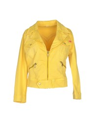 Nolita Coats And Jackets Jackets Women Yellow