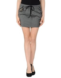 Just For You Mini Skirts Grey