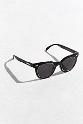 Urban Outfitters Crap Eyewear Pop Control Gold Accent Sunglasses Black