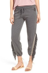 Rip Curl Women's Hideaway Fringe Crop Sweatpants