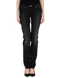 Pt0w Denim Pants Black