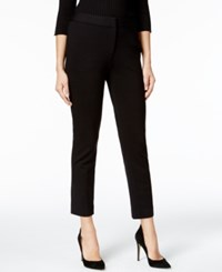 Catherine Malandrino Slim Fit Ankle Pants Black