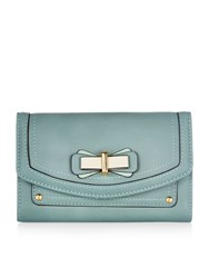Accessorize Medium Bow Wallet Green