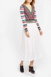 Missoni Women S V Neck Knitted Top Boutique1 Multi