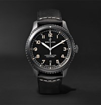Breitling Navitimer 8 Automatic 41Mm Steel And Leather Watch Black