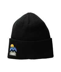 Coal The Donner Beanie Black Knit Hats