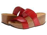 Eric Michael Cody Red Women's Wedge Shoes