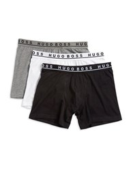 Boss Three Pack Stretch Cotton Boxer Briefs Assorted