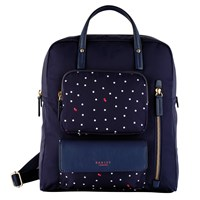 Radley Cheshire Street Zipped Backpack Blue