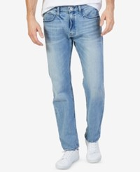 Nautica Men's Stretch Relaxed Fit Jeans Light Tidewater