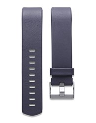 Fitbit Charge 2 Leather Accessory Band Blue
