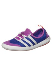 Adidas Performance Climacool Boat Sleek Trainers Night Flash White Flash Pink Purple