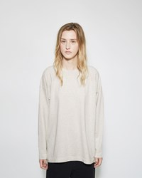 Chimala Long Sleeve Wide Tee Oatmeal