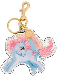 Moschino My Little Pony Keyring Leather