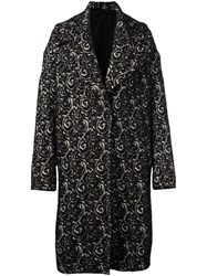 Eggs 'Monaco' Coat Black
