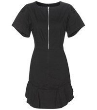 Etoile Isabel Marant Neit Cotton And Linen Blend Dress Black