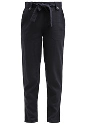 New Look Lolly Trousers Navy Dark Blue