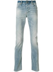 Neuw Faded Slim Fit Jeans Blue