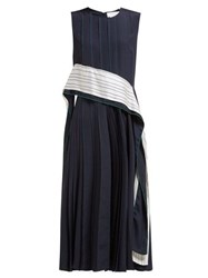 Sportmax Zenica Dress Navy White