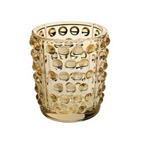 Lalique Mossi Votive Gold Lustre