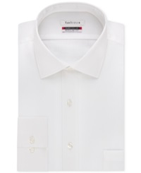 Van Heusen Tek Fit Flex Collar Solid Dress Shirt White