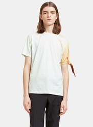 J.W.Anderson Single Knot Faded T Shirt Green