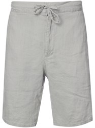 Onia Max Drawstring Shorts Men Linen Flax Xl Nude Neutrals
