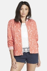 Ace Delivery Jacquard Bomber Orange