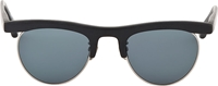 Oliver Peoples Matte Black Op 4 Limited Edition Vintage Style Sunglasses